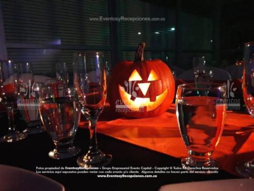 centro de mesasdecoracion calabazas halloween (2)