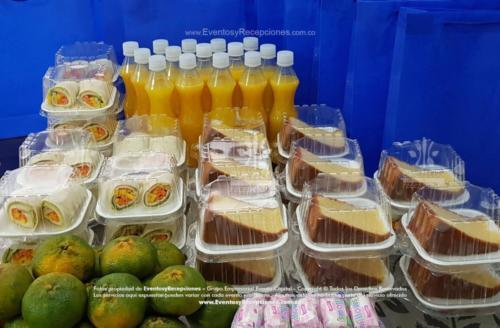 Desayuno Empacado Jugo Wrap Torta Fruta Golosina (1)