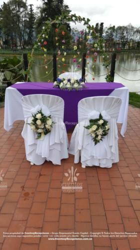 arreglo altar mesa pastor sillas novios (6)
