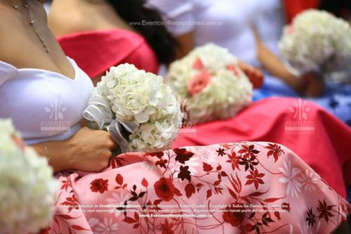 bouquet damas honor