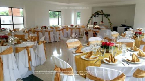 mantel base blanca redondo camino dorado fajon servilleta (1)