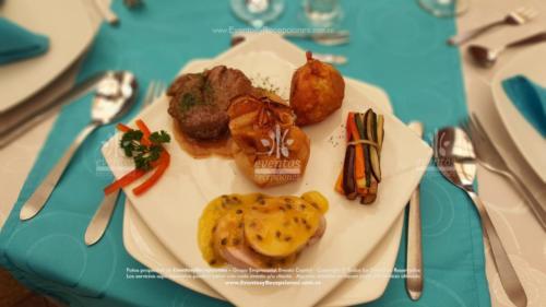 menu gourmet dos carnes Arroz Tamalito Bouquetier(29)