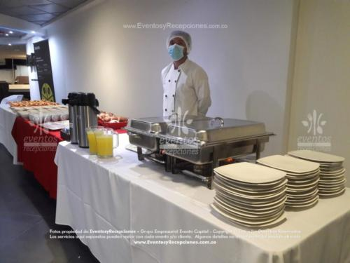 montaje mesa buffet  (2)