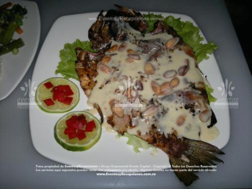 menu gourmet trucha almendrada