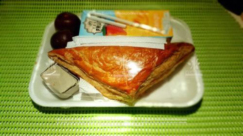Refigerios empacados Pastel Pollo Jugo caja Fruta Golosina  (2)