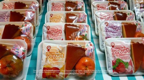Refrigerios empacados Torta Yogurth Fruta Golosina (7)