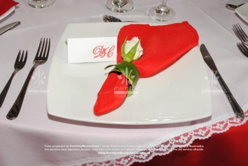 decoracion servilletas  (6)roja
