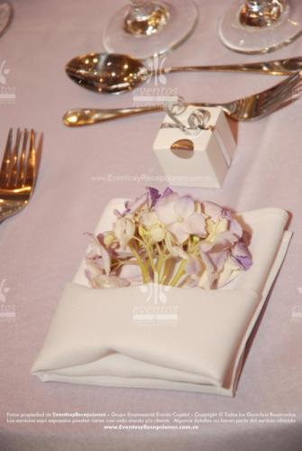 decoracion servilletas blanca hortensia (1)