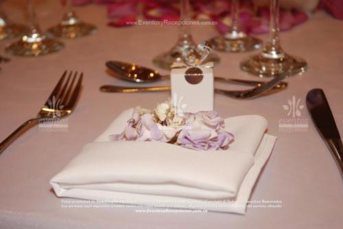 decoracion servilletas blanca hortensia (2)