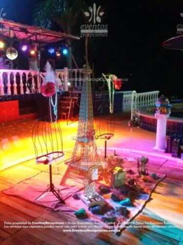 servicio adicional par 64 ambiente luz  vintage parisino tematica (1)