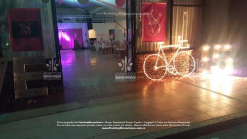 tematica victoria secret entrada 15 bici luces