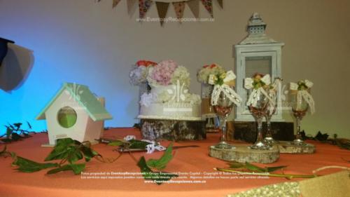 decoracion copas brindis pala sierra ponque